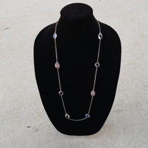 Minaret Station necklace in pink